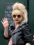 Ретро прическата на Лейди Гага